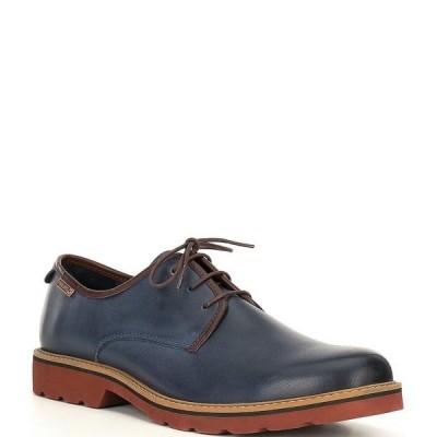 ピコリーノス メンズ ドレスシューズ シューズ Men's Bilbao Lace Up Shoes Blue