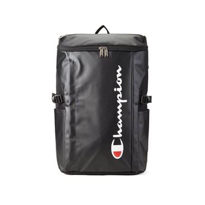 【カバンのセレクション】 チャンピオン リュック 30L スクエア ボックス型 防水 大容量 通学 メンズ レディース champion 62487 ユニセックス ブラック フリー Bag&Luggage SELECTION