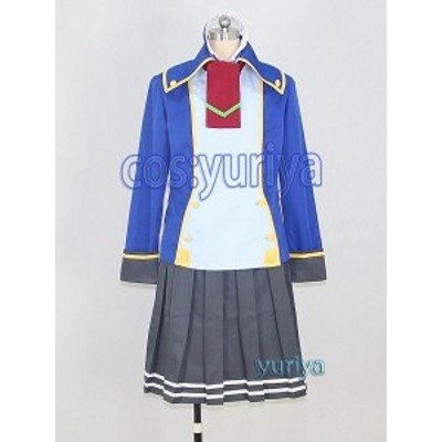 BLAZBLUE(ブレイブルー)ツバキ=ヤヨイ 制服 コスプレ衣装