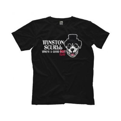 マーティー・スカール Tシャツ「MARTY SCURLL Winston Scurll Tシャツ」  アメリカ直輸入プロレスTシャツ