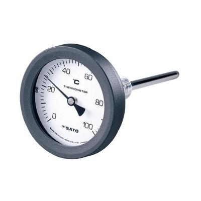 佐藤計量器製作所 2094-00 バイメタル温度計 BM-T-75P 0〜150℃, L=150mm, RPT 1/2 SATO