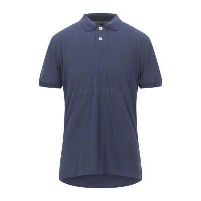 ブルネロ クチネリ BRUNELLO CUCINELLI ポロシャツ ダークブルー XXL コットン 100% ポロシャツ