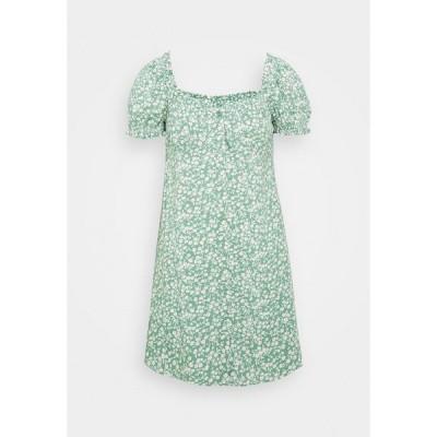 ニリーバイネリー ワンピース レディース トップス FLIRTY BUTTON DRESS - Day dress - light green