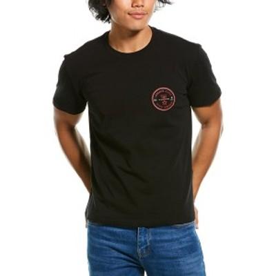 ヴェルサーチ メンズ Tシャツ トップス Versace Jeans T-Shirt black