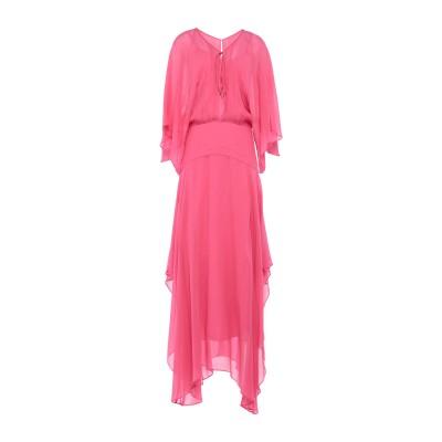 ピンコ PINKO ロングワンピース&ドレス フューシャ 38 100% レーヨン ロングワンピース&ドレス
