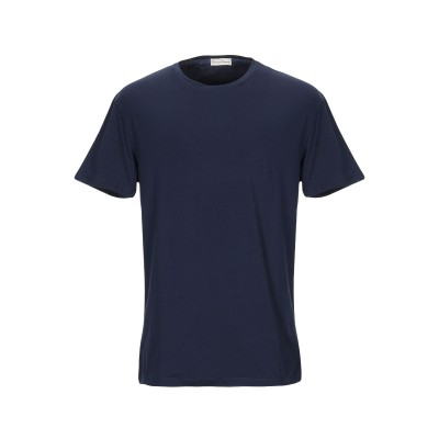 CASHMERE COMPANY T シャツ ダークブルー 52 コットン 100% T シャツ