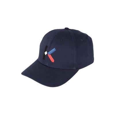 ケンゾー KENZO 帽子 ダークブルー one size コットン 100% 帽子