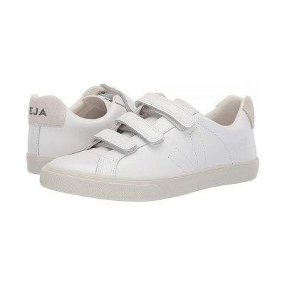 VEJA レディース 女性用 シューズ 靴 スニーカー 運動靴 3-Lock - Extra White Pierre Leather