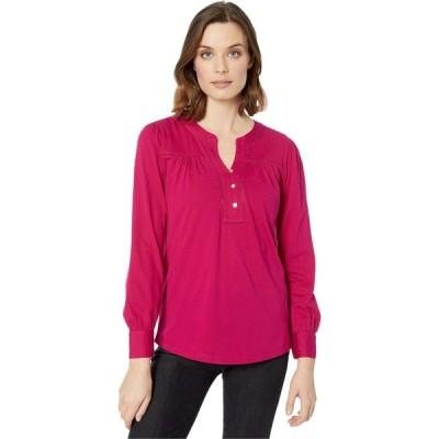 ラルフ ローレン LAUREN Ralph Lauren レディース Tシャツ トップス Cotton Jersey Top Bright Fuchsia
