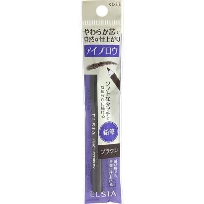 KOSE ELSIA コーセー エルシア プラチナム 鉛筆 アイブロウ ブラウン・BR300 1.1g アイブロウペンシル