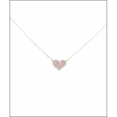 サマンサティアラ Perfect Heart ネックレス ピンク