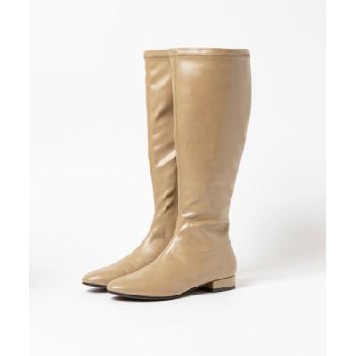 ABAHOUSE PICHE / 【スノーソール】ストレッチロングブーツ WOMEN シューズ > ブーツ