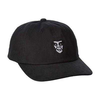 Obey Fubar 6 Panel Snapback Hat Cap Black キャップ 送料無料