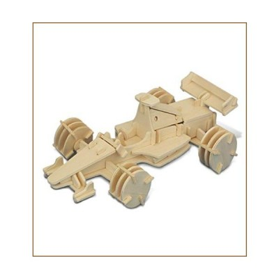 Puzzled Formula 1 3D Natural Wood Puzzle (91 Piece)【並行輸入品】