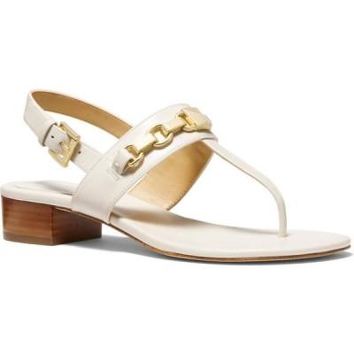 マイケル コース MICHAEL Michael Kors レディース サンダル・ミュール シューズ・靴 Charlton Sandal Light Cream