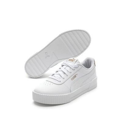 プーマ レディース スニーカー シューズ Carina Leo L Sneaker WHITE