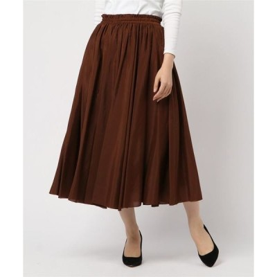 スカート ヌーディスローンロングスカート