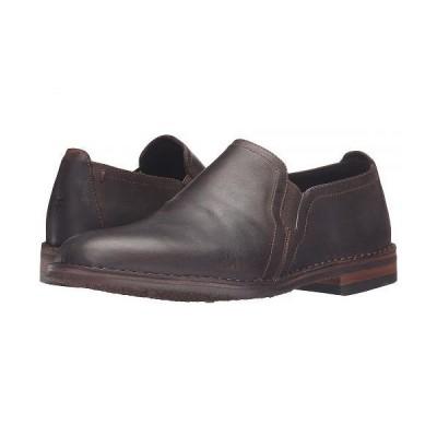 Trask トラスク メンズ 男性用 シューズ 靴 ローファー Blaine - Brown Oiled American Steer
