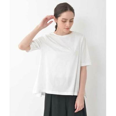 GEORGES RECH/ジョルジュ・レッシュ 【洗える】ロゴTシャツ ホワイト 40