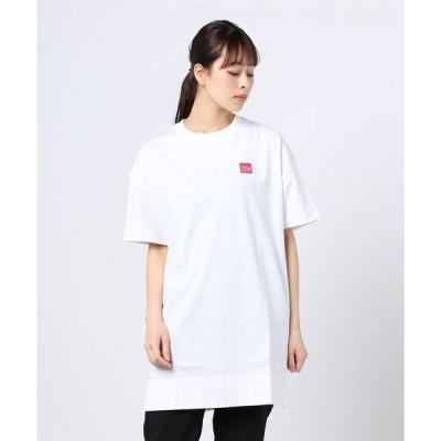 tシャツ Tシャツ Manhattan Portage/マンハッタン ポーテージ/Box Logo Short Sleeve Tunic/ボックスロゴ