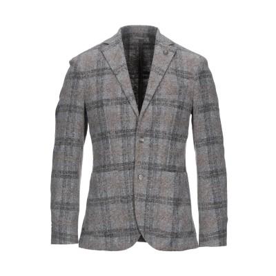 L'8 BY LUBIAM テーラードジャケット グレー 46 アクリル 54% / ウール 24% / ポリエステル 22% テーラードジャケット