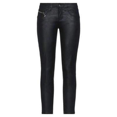 KAOS JEANS パンツ ブラック 26 ポリウレタン 50% / レーヨン 50% パンツ