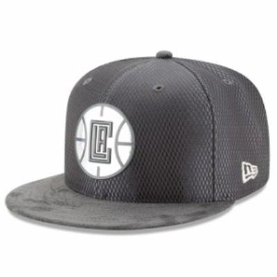 New Era ニュー エラ スポーツ用品  New Era LA Clippers Graphite Draft Silver Logo 59FIFTY Fitted Hat