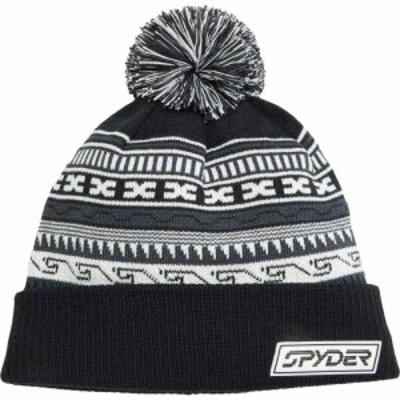 スパイダー Spyder メンズ ニット 帽子 Heritage Black