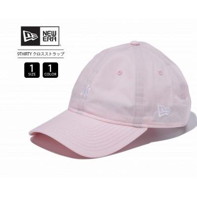 ニューエラ 9THIRTY キャップ NY ニューヨークヤンキース レディース メンズ クロスストラップタイプライター NEW ERA キャップ 帽子 ロゴ刺繍 11901269