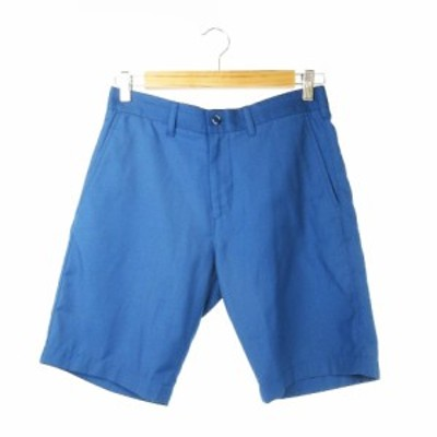 【中古】ジャーナルスタンダード JOURNAL STANDARD パンツ ショート ハーフ S 青 ブルー /CK5 ☆ メンズ