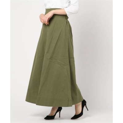 スカート T/R/Lカルゼ マキシスカート
