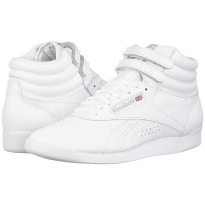 リーボック Reebok Lifestyle レディース スニーカー シューズ・靴 Freestyle Hi White/Silver