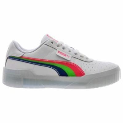 (取寄)プーマ レディース シューズ プーマ カリ ネオンWomen's Shoes PUMA Cali NeonWhite Pink Blue 送料無料