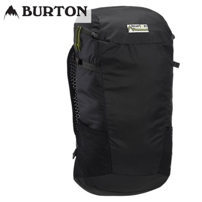 19SS BURTON バックパック Packable Skyward 25L Backpack 20766100: True Black 正規品/バートン/メンズ/リュックサック/デイパック/snow