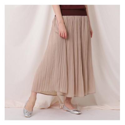 【クチュール ブローチ/Couture brooch】 ワッシャー消しプリーツスカート