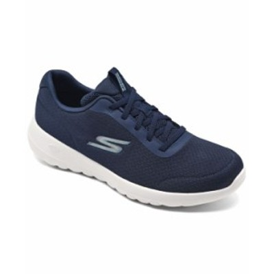 スケッチャーズ レディース スニーカー シューズ Women's GO Walk Joy - Ecstatic Slip-On Walking Sneakers from Finish Line Navy