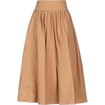 トゥルーニューヨーク TRUE NYC® 7分丈スカート ブラウン 28 コットン 95% / ポリウレタン 5% 7分丈スカート