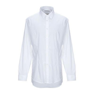グレイ ダニエレ アレッサンドリーニ GREY DANIELE ALESSANDRINI シャツ ホワイト 42 コットン 97% / ポリウレタン