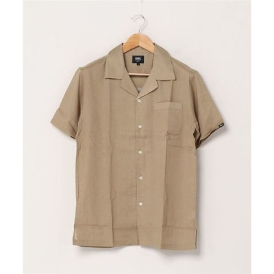 tシャツ Tシャツ VANS ヴァンズ VANS Open color S/S shirt 120H1060300 BEIGE