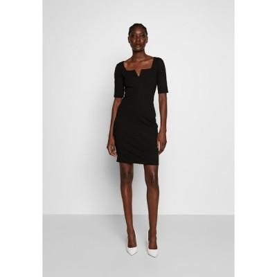 アンナフィールド ワンピース レディース トップス Shift dress - black