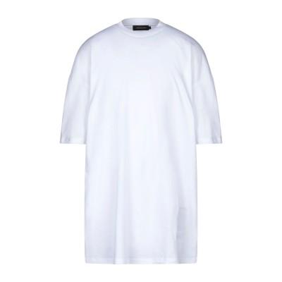 オデュール CONCEPTS D'ODEUR T シャツ ホワイト L コットン 100% T シャツ