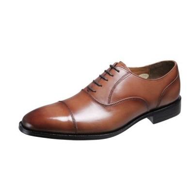メンズシューズストレートチップ内羽根ベルガモ紳士靴革底マッケイ製法ビジネスシューズ2871ブラウン