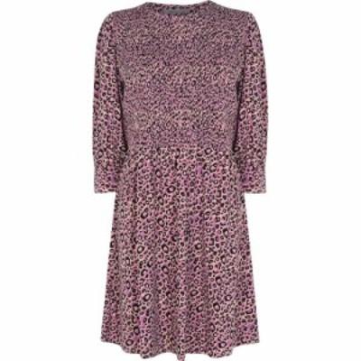 オアシス Oasis レディース ワンピース スケータードレス ワンピース・ドレス Leopard Skater Dress Multi