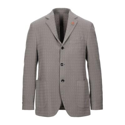 ラルディーニ LARDINI テーラードジャケット グレー 52 ウール 89% / ナイロン 9% / ポリウレタン 2% テーラードジャケット