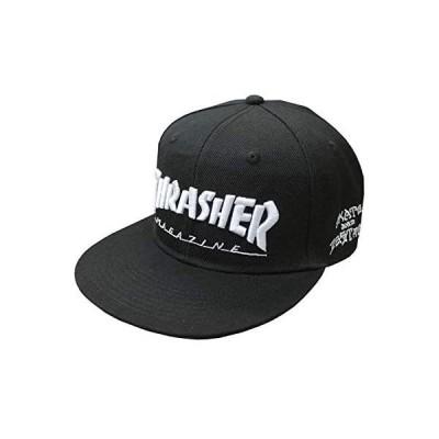 [スラッシャー] 帽子 MAG LOGO SNAP BACK CAP キャップ メンズ レディース スナップバック FREE BLK