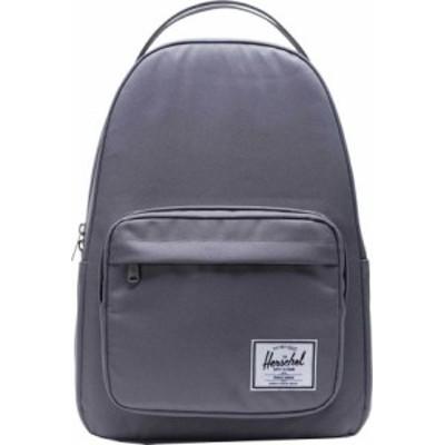 ハーシェルサプライ メンズ バックパック・リュックサック バッグ Miller 600D Poly Backpack Grey