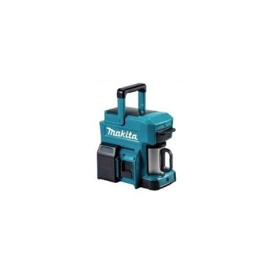 マキタ 充電式コーヒーメーカー CM501DZ 青 本体のみ 中空ステンレス製マグカップ付 給水タンク目盛付240/200/160/120mL 10.8Vスライド式 14.4V 18V 対応 makita