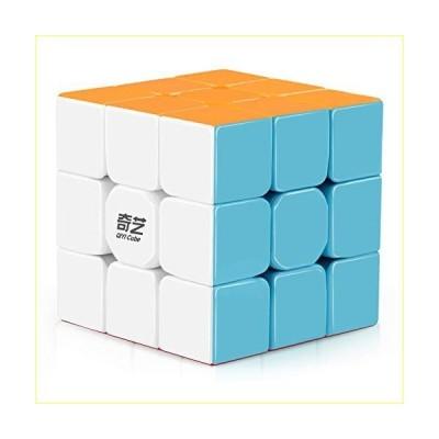 【並行輸入品】D-FantiX Qiyi Warrior W 3x3 Speed Cube Stickerless 3x3x3 Magic Cube Puzzles