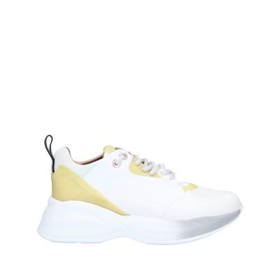 ALEXANDER SMITH スニーカー&テニスシューズ(ローカット) ホワイト 40 革 / ゴム / 紡績繊維 スニーカー&テニスシューズ(ロ