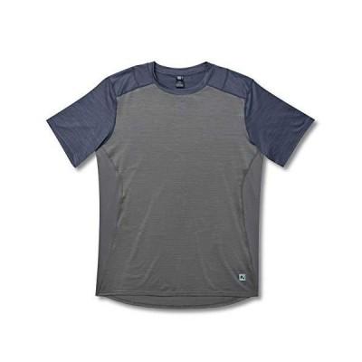 Flylow Garrett シャツ メンズ 半袖 防臭加工 ハイキング マウンテンバイク トレイルランニング US サイズ: Small カラー:
